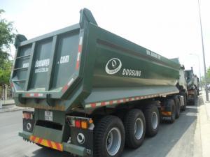 Điểm bán Sơmi Rơ Moóc 29 tấn 24 khối thùng tự đổ, thùng ben
