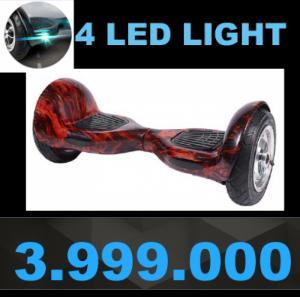 Xe điện cân bằng 10-inch 4 đèn LED cao cấp