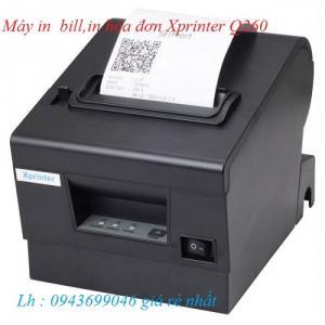 Bán Máy in bill.in hóa đơn Xprinter Q260 giá sốc tại Hà Nội.