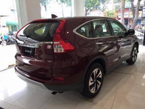 Honda CR-V 2.4 TG 2016 màu đỏ khuyến mãi tốt giao xe ngay trong tháng