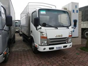 Xe tải jac 3,45 tấn thùng mui bạt đời mới