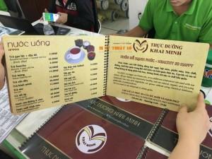 In menu quán cà phê, menu lò xo, bìa nhựa, ruột giấy cán màng mờ, nhiều trang | In Thực Đơn cam kết trực tiếp thực hiện đơn hàng in cho bạn, không thuê ngoài dịch vụ, đem đến mức giá rẻ và cạnh tranh nhất trên thị trường