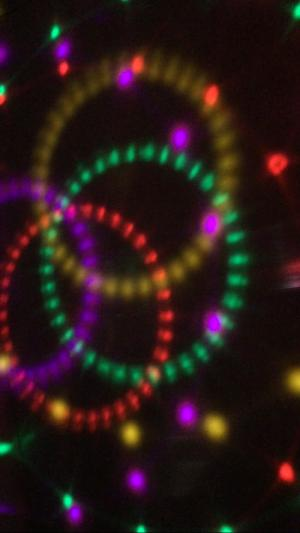 Đèn quả cầu magic ball light chóp theo nhạc