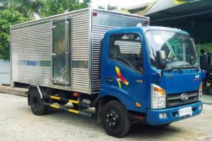 VEAM VT252 2 tấn 4 - xe tải VEAM 2T4 cabin vuông - kính điện