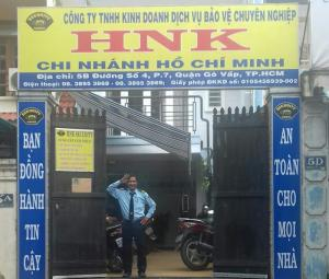 Nhân viên bảo vệ Ngân hàng Việt Á, Tp.HCM