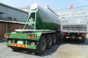 Bán Sơ mi rơ mooc xitec chở xi măng xá 31m3 33 tấn, có sẵn giao ngay