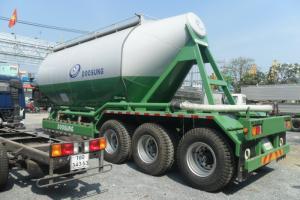 Sơmi rơmooc tải (chở xi măng rời) Doosung 33 tấn mới 100%, giá 570 triệu