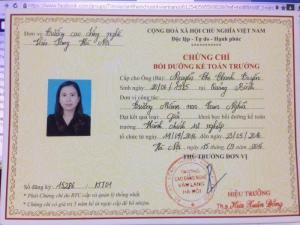 Toàn quốc: Đào tạo Kế toán trưởng, HCSN - Học Viện Tài Chính