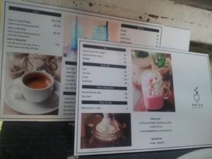 In menu, thưc đơn áp tường, dán tường, menu treo tường cho quán xôi chè thêm hấp dẫn thực khách cùng In Thực Đơn   Loại hình in: PP cán format tấm lớn