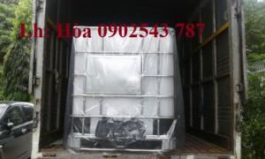 Bồn nhựa 1000 lít có khung thép bao bọc xung quanh