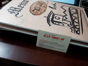 Menu dạng cuốn cho quán bún bò Huế | Loại hình in: pp cán format