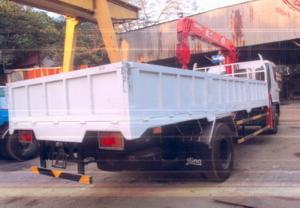 Xe tải Hino 7 tấn, gắn cẩu UNIC 5 tấn 5 khúc, giá siêu khuyến mãi