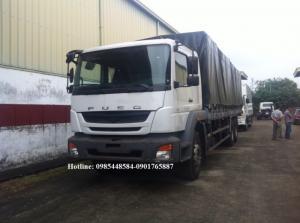 Xe tải Fuso 3 chân FJ 15 tấn nhập khẩu giá siêu tốt