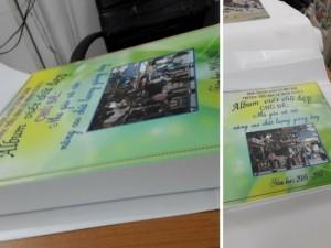 Đặt làm album viết chữ đẹp cho giáo viên tiểu học các trường