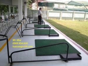 Vách ngăn sân tập golf tại hà nội