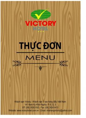 Đặt làm Menu Quán ăn, nhà hàng, khách sạn tại TPHCM