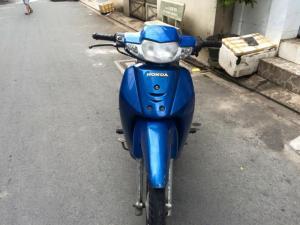 Honda  alpha LD, màu xanh, xe đẹp,máy êm