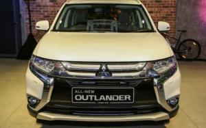 Mitsubishi Outlander 2.0 CVT mới model 2017 có trả góp