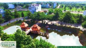 Tiêu điểm sống Tp Tân An. Khu Đô Thị Ven Sông Vàm Cỏ. Nơi đầu tư an toàn, chắc thắng