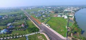 Khu Đô Thị Ven Sông Xanh Mát Phí Tây Nam TP. CSHT 100%. Sổ hồng. 20% dân cư. 6tr/m2