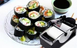 Làm sushi thật dễ dàng với bộ dụng cụ cuộn...