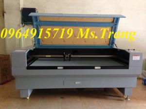 Máy laser 1810 2 đầu cắt vải tự động giá rẻ