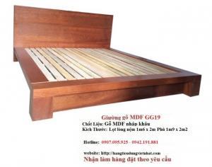 Giường gỗ nhiều kiểu GIÁ RẺ NHẤT