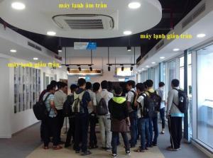 Giới thiệu máy lạnh âm trần - giấu trần Daikin chính hãng giá sỉ tại kho Đại Đông Dương