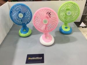 Quạt sạc điện Mini Fan Sử dụng pin sạc -...