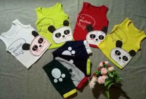Đồ bộ trẻ em gấu panda