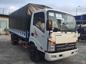 Xe tải 3 tấn 5 - xe tải VEAM VT350 3T5 kính chỉnh điện - cabin vuông - máy lạnh