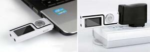 Máy nghe nhạc MP3 USB 2.0 trắng - tặng thẻ 8Gb