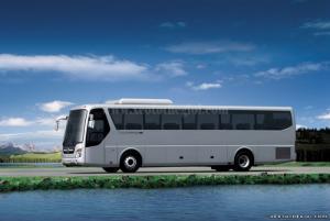 Xe khách 47 chỗ, Hyundai Universe Noble nhập khẩu, bán trả góp, trả thẳng
