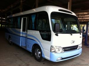 Xe khách 29 chỗ Thaco County TB75S C thân dài 7,5 m