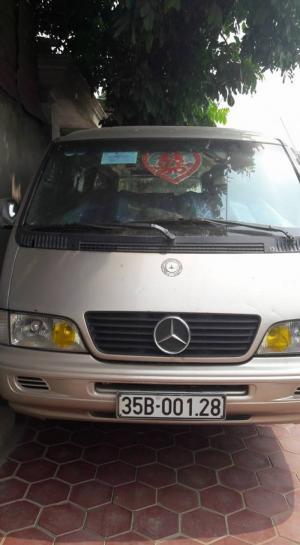 Mercedes tròn 16 chỗ đời 2003, Xe đẹp sơn zin, máy gầm chắc chắn, nội thất đẹp, đủ đồ chơi  có hợp đồng vận tải