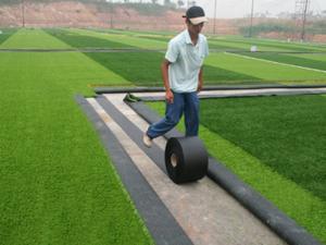 Bạt dán cỏ sân nhân tạo