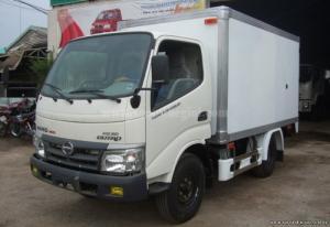 Chuyên bán xe tải thùng Hino 4 tấn...