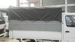 Bán xe tải nhẹ Hyundai thùng mui bạt, mới 100%, đời 2016, giá cực tốt