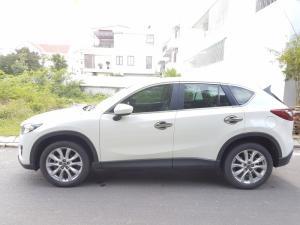 [Khánh Hòa] Cần bán Mazda CX5 Trắng đăng ký 2014 55.000km