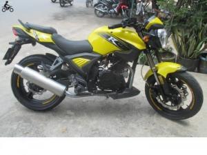Cần bán xe Moto Rebel CBR 125 cc, máy USA Rebel. màu vàng, mua thùng 2012. . Xe 2 máy, 3 dĩa, xe mới 99,9%