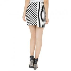 Váy phối trắng đen SIZE S M L