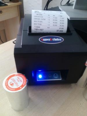 Máy in hóa đơn, in bill pha chế cho chuỗi quán ăn, nhà hàng