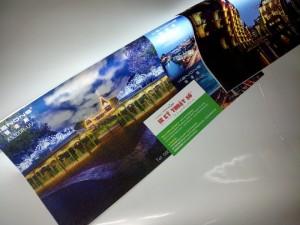 In UV silk | thành phẩm in UV silk tranh treo tường, cho hiệu ứng rực rỡ khi sử dụng kết hợp với đèn chiếu mặt sau