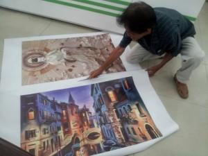 In UV tranh nghệ thuật chất liệu canvas | Các hình ảnh về phong cảnh châu Âu, hình ảnh tranh phục hưng, tranh nghệ thuật cổ điển được khách hàng đặt in trang trí với phương pháp in UV cao cấp