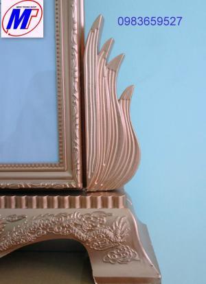 Bán khung hình thờ nhựa đế hoa sen khung hình thờ đế rồng rẻ nhất