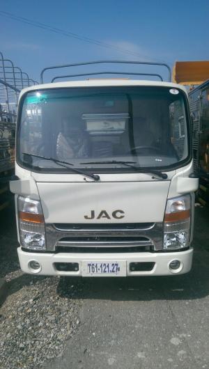 Xe tải JAC 3.45 tấn thùng mui bạt