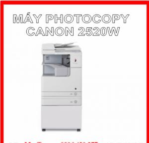 Máy photocopy Canon ir 2520w model 2016 giá cực rẻ