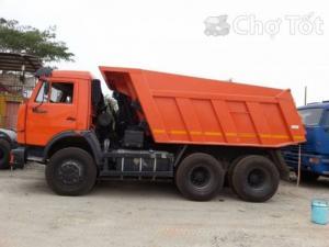 Bán xe Kamaz nhập khẩu mới 100%