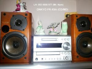 Bán dàn máy nghe nhạc mimi ONKYO FR-X9A CD/MD