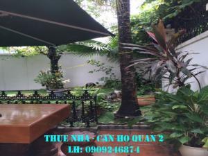 MÔ TẢ VỊ TRÍ VÀ TIỆN ÍCH : Biệt thự quận 2, đường số 11, phường Thảo Điền